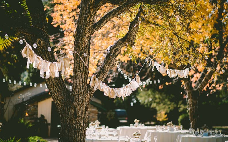 Elegancki ślub boho