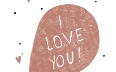 Walentynkowe ilustracje