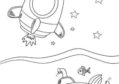 woda w kosmosie